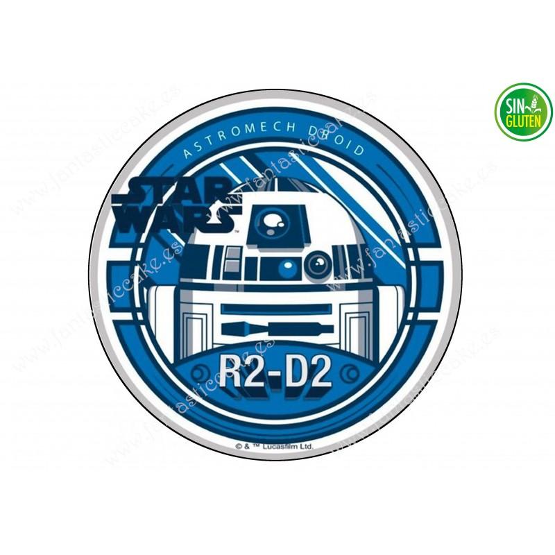 Oblea para tarta Star Wars R2-D2 Nº 289