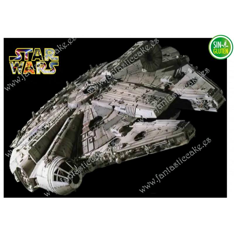 Oblea para tarta Nave Star Wars Nº 291