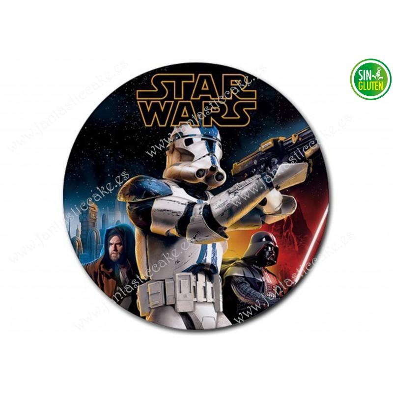 Oblea para tarta Star Wars Nº 292