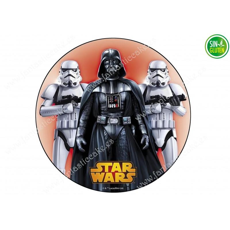 Oblea para tarta Star Wars Darth Vader Nº 294