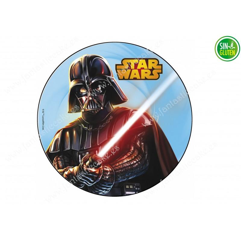 Oblea para tarta Star Wars Darth Vader Nº 295