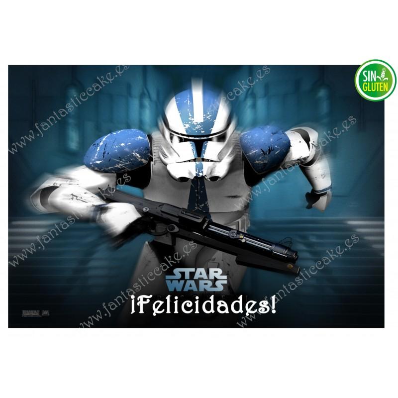 Oblea para tarta Star Wars Nº 301