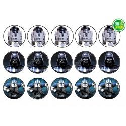 Obleas para Galletas Star Wars Nº 304