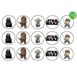 Impresión para Galletas Star Wars Nº 306