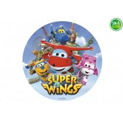 Oblea para tarta Super Wings Nº 308