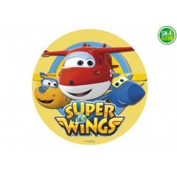 Oblea para tarta Super Wings Nº 309
