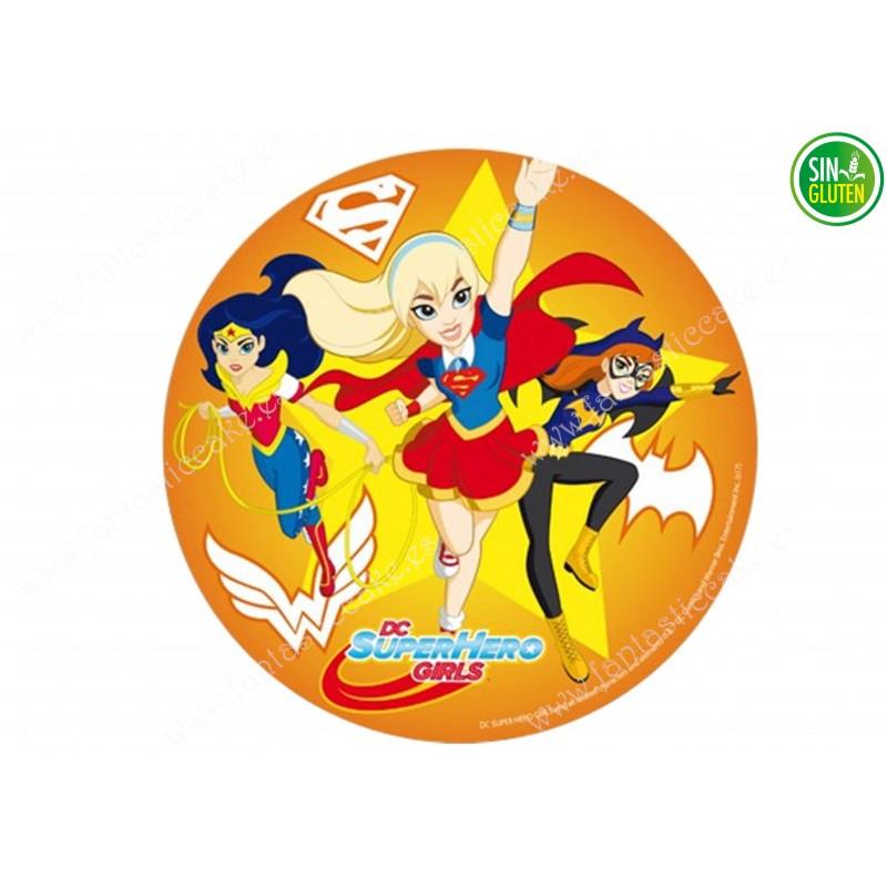 Impresión para Tarta Super Heroinas Nº 313