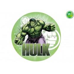 Oblea para Tarta Hulk Nº 318