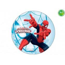 Oblea para tarta Spiderman Nº 323