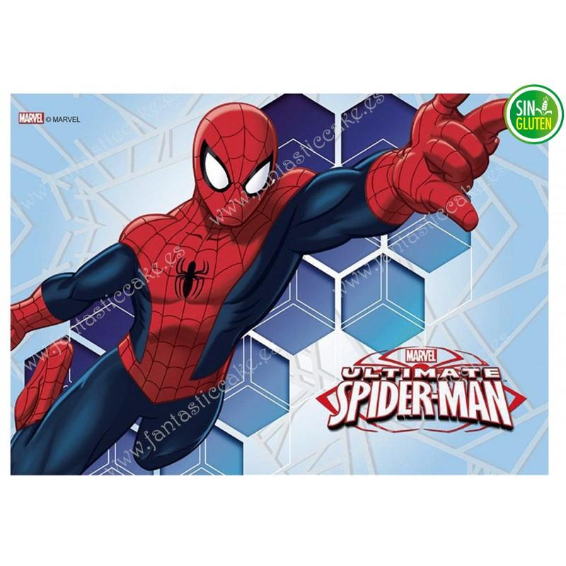 Oblea para tarta Spiderman Nº 325