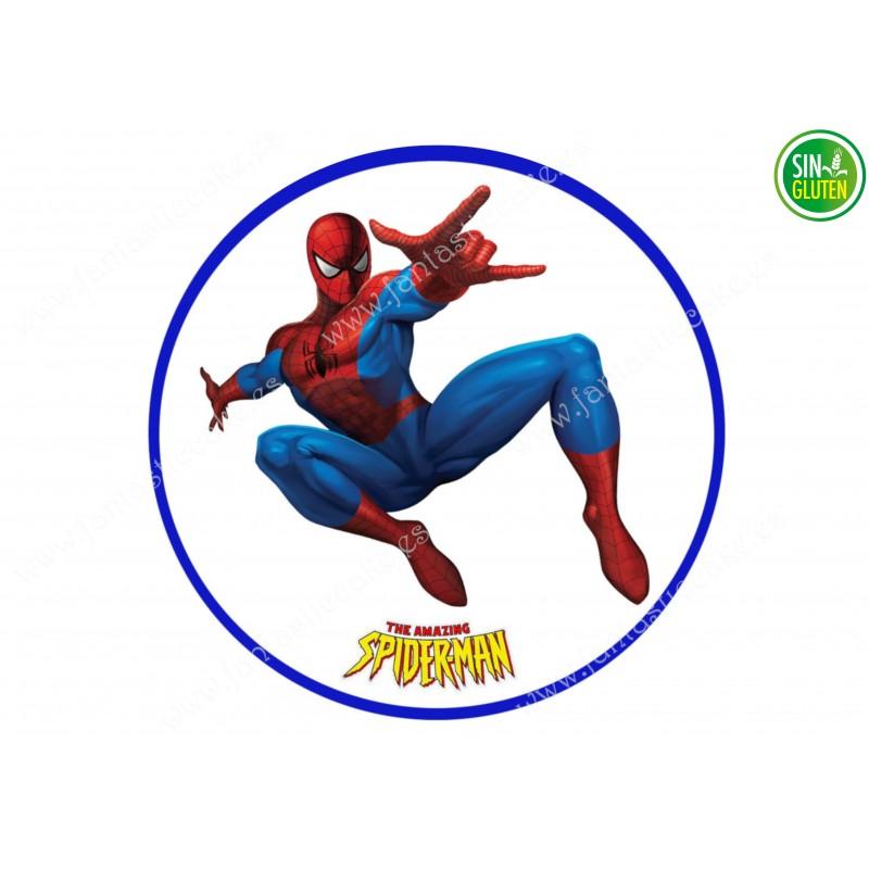 Oblea para tarta Spiderman Nº 327