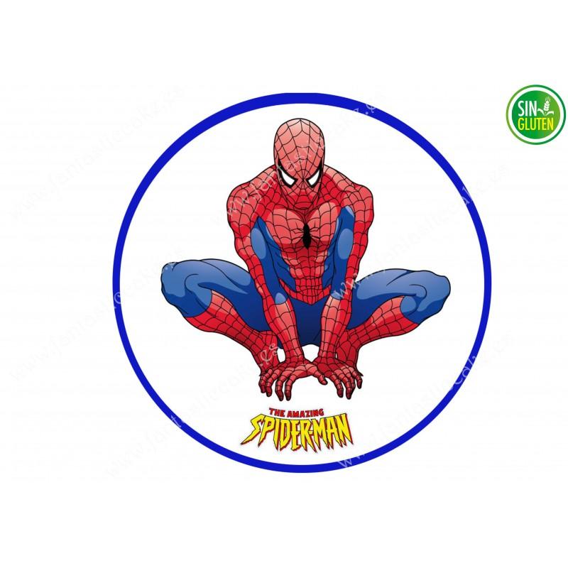 Impresión Comestible para tarta Spiderman Nº 328