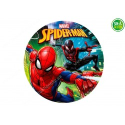Oblea para tarta Spiderman Nº 331