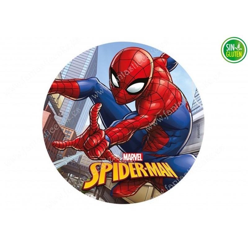Oblea para tarta Spiderman Nº 333