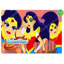 Oblea para tarta Super Woman Nº 336