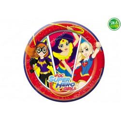 Oblea para tarta Superheroinas Nº 340