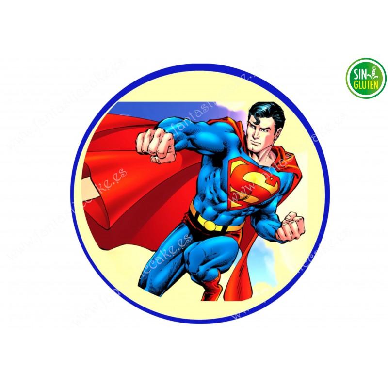Oblea para tarta Superman Nº 341