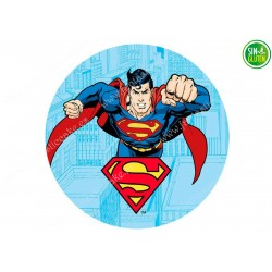 Oblea para tarta Superman Nº 342
