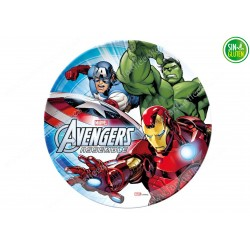 Oblea para tarta Ironman, Hulk y Capitan America Nº 343