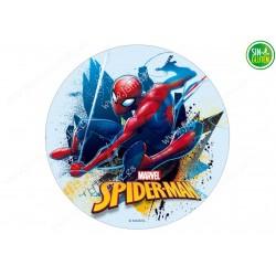Impresión Comestible de Spiderman Nº 348