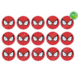 Obleas para Galletas Spiderman Nº 355
