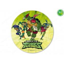 Oblea para tarta de las Tortugas Ninjas Nº 381