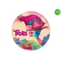 Oblea para tartas de Trolls Poppy Nº 396