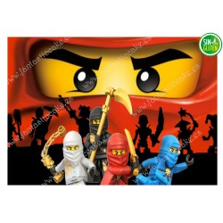 Ninja  Lego - Oblea para tarta Nº 423