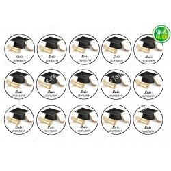 Graduación - Obleas para Galletas Nº 421