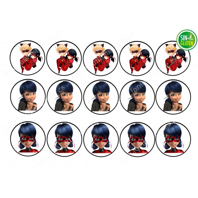 LadyBug - Obleas para Galletas Nº 436