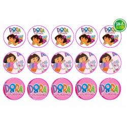 Dora La Exploradora - Obleas para Galletas Nº 440