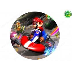 Obleas para tarta de Mario Bross Nº 466