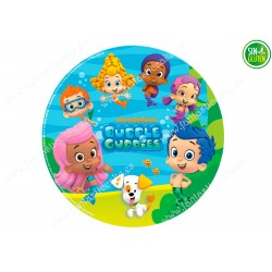 Obleas para tarta Bubble Guppies Nº 455