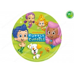 Obleas para tarta Bubble Guppies Nº 456