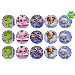 Obleas para Galletas Littlest Pet Shop Nº 458