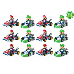 Mario Bross - Obleas para Galletas Nº 463
