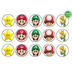 Obleas para Galletas Mario Bross Nº 465