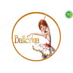 Obleas para tarta Ballerina Nº 469
