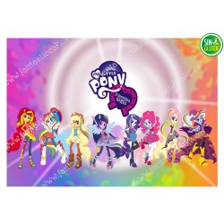 Oblea para tarta My Little Pony nº 477