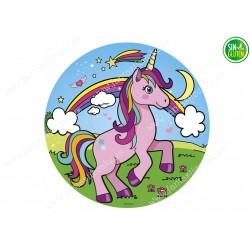 Obleas para tarta  Unicornio Nº 480