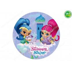 Shimmer & Shine - Obleas para tarta Nº 483
