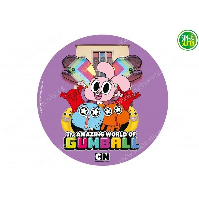Gumball - Obleas para tarta  Nº 534