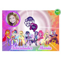 Foto - Oblea para tarta My Little Pony Nº 569