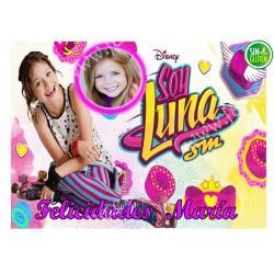 Foto - Oblea para tarta Soy Luna Nº 585