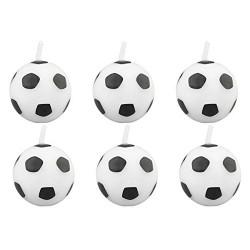 Velas balón de fútbol  wilton - FANTASTIC CAKE