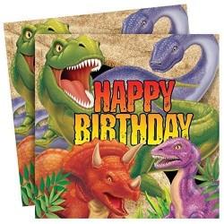 Servilletas de dinosaurio - Fantastic Cake