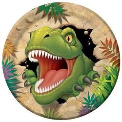 Platos de dinosaurio - Fantastic Cake