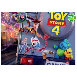 Oblea Rectangular Toy Story Nº 605