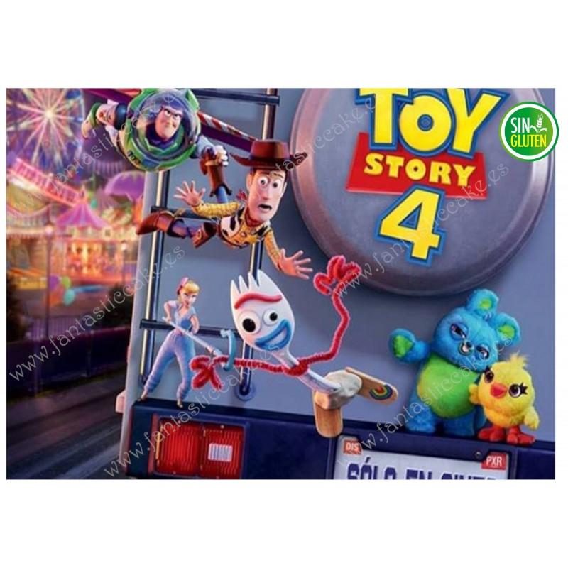 Oblea Rectangular Toy Story Nº 605
