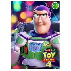 Oblea Rectangular Toy Story - Buzz Lightyear Nº 606